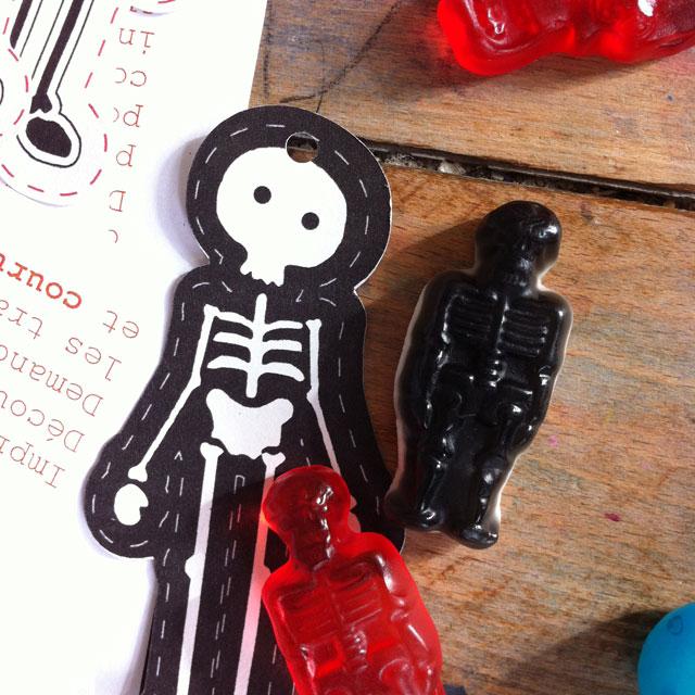 DIY Boo! de mes petits papiers