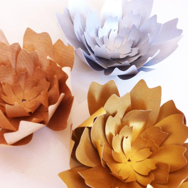 fleurs en tenue de gala