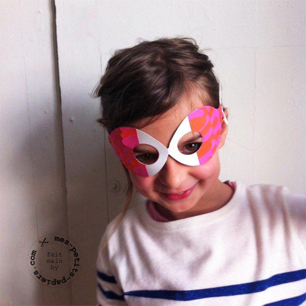 DIY masque poisson d'avril par mes-petits-papiers.com