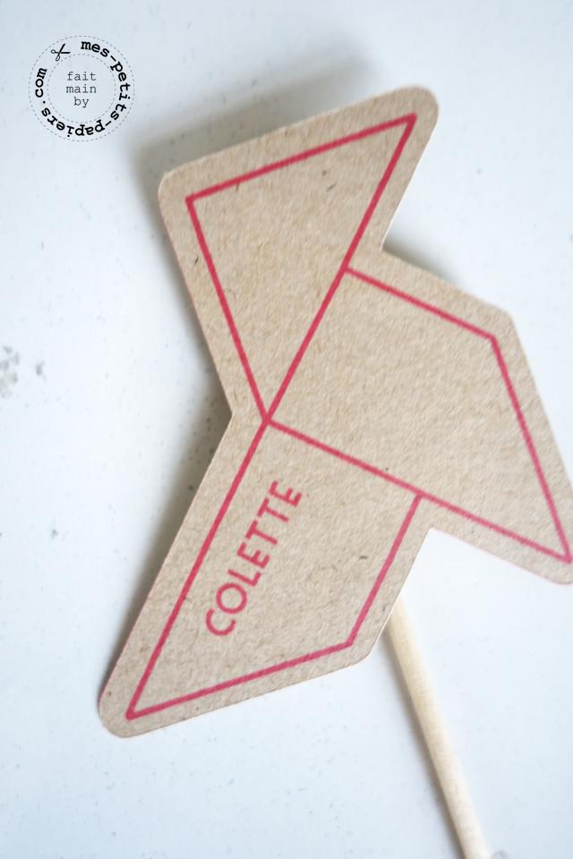 des cocottes en papier pour Colette