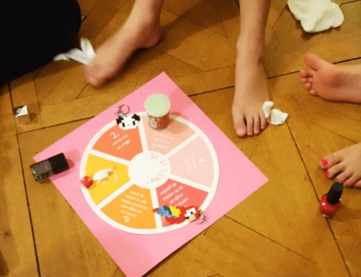 mes petits papiers - DIY jeu du vernis- pyjama party 13