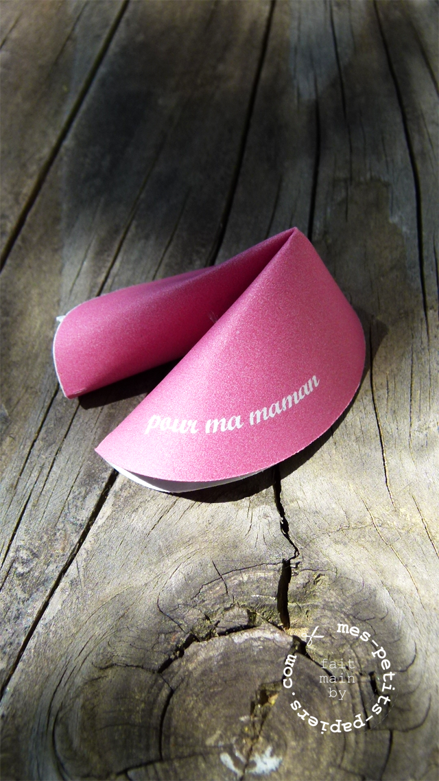 e maman! Fortune cookies