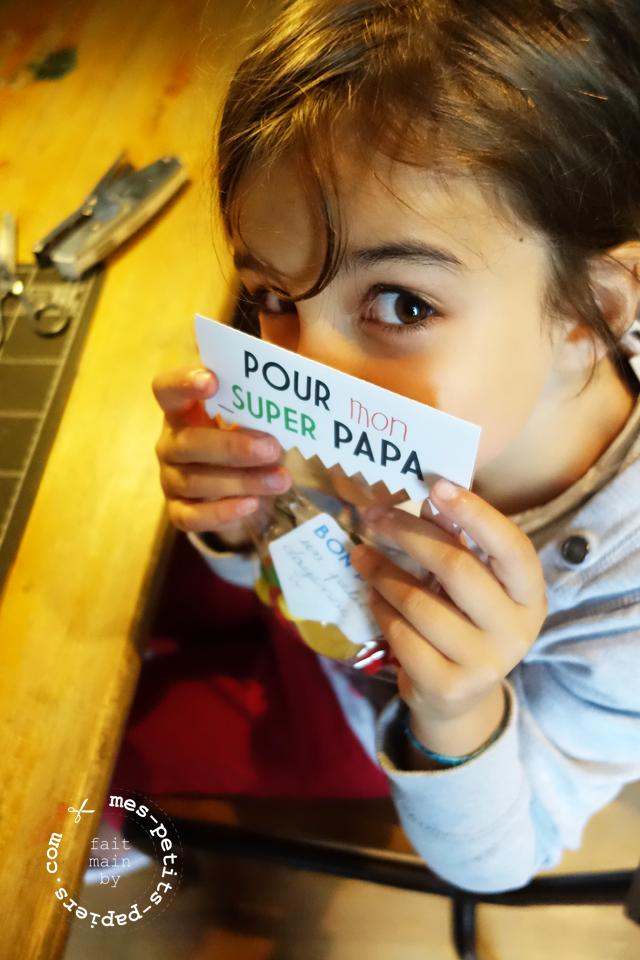 DIY - médaille de super papa