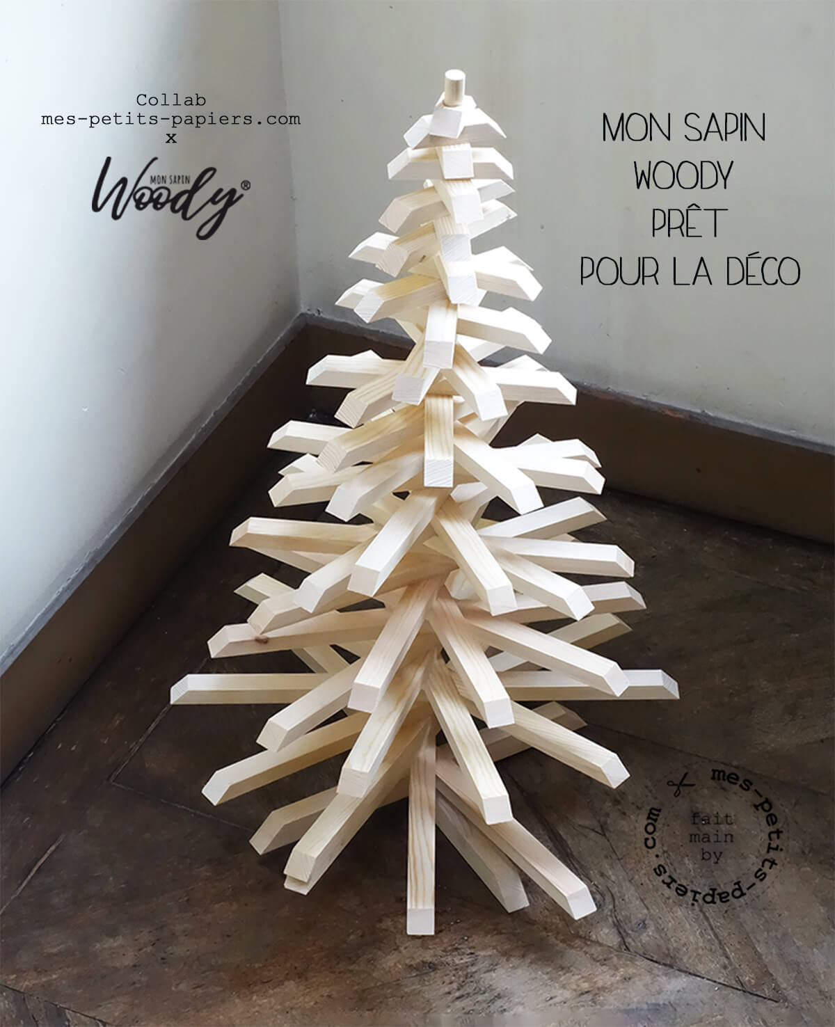 collab mes petits papiers pour mon sapin woody 1