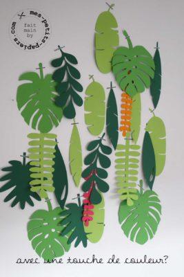 jungle papier 1